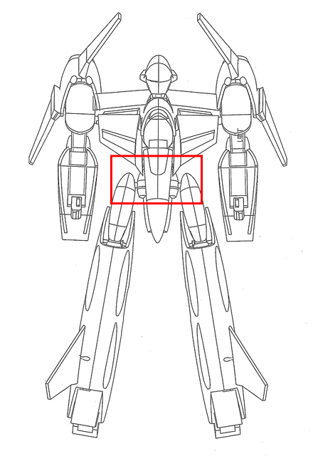 Macross: Digital Mission VF-X Concept Art