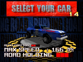 Burning Road (Explosive Racing)