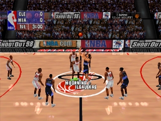 NBA ShootOut '98 (Total NBA 98)