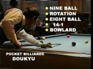 Pool Hustler (Doukyu: Billiard Master; Pool Palace)