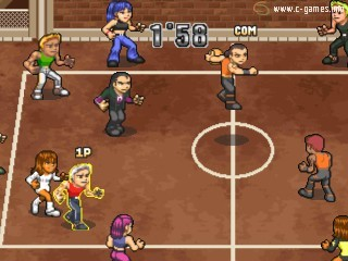 All-Star Slammin' D-Ball (Simple 1500 Series Vol. 76: The Dodge Ball или Super Slammin' Dodgeball)