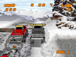 Test Drive: Off-Road (Gekitotsu! Yonku Battle)