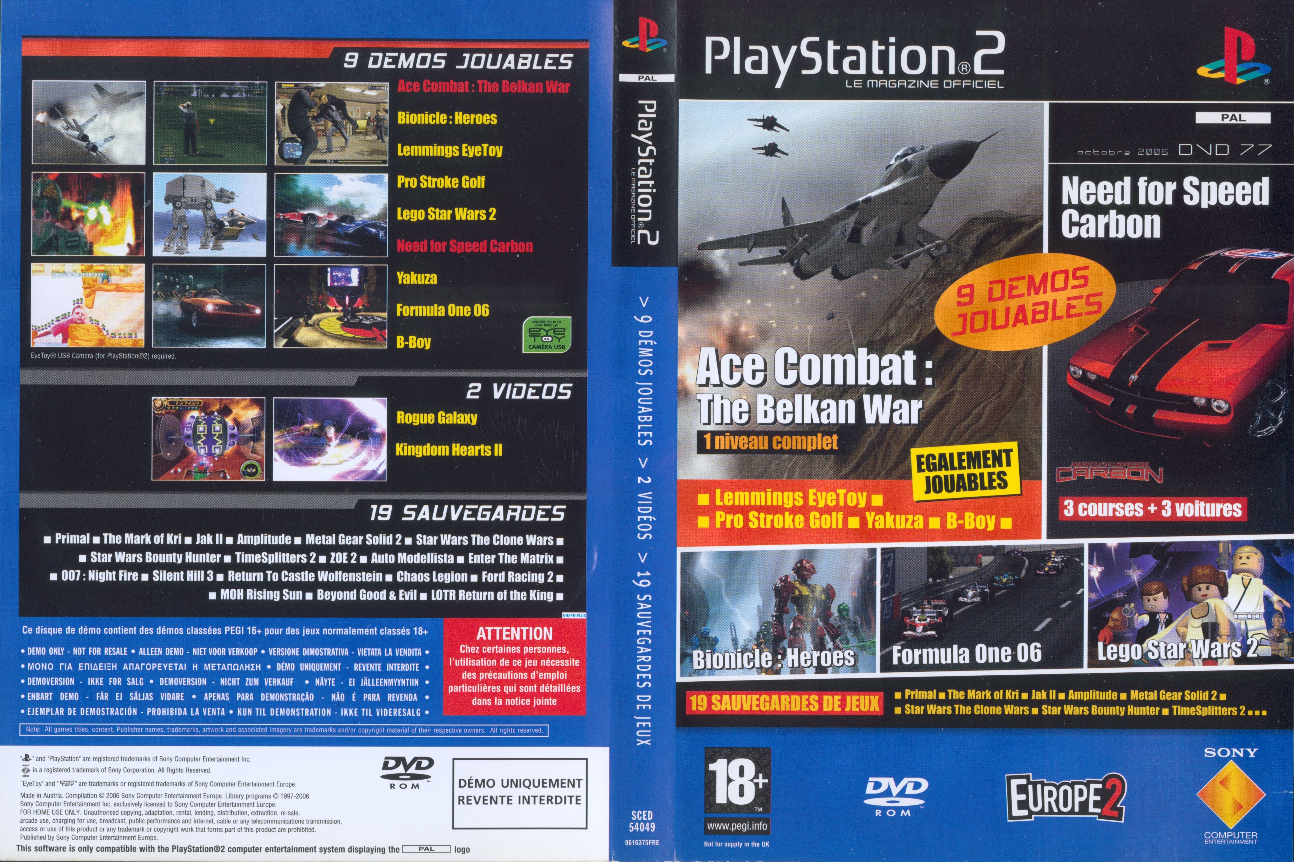 Official PlayStation 2 Magazine Demo 77 [SCED-54049] - PSX