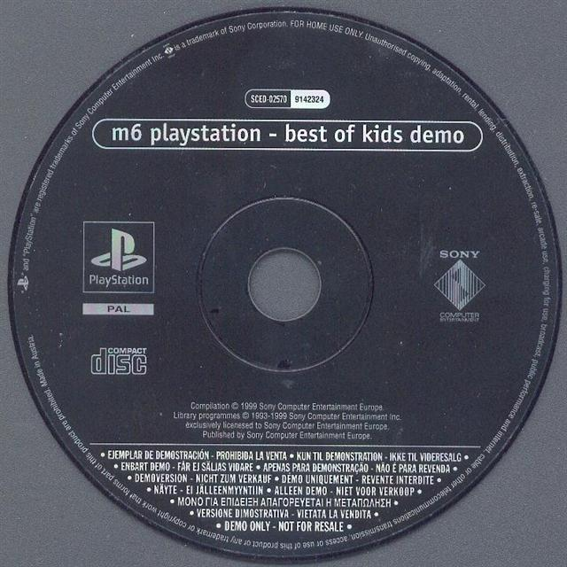 M6 PlayStation: Best Of Kids [SCED-02570] - PSX Planet: SONY