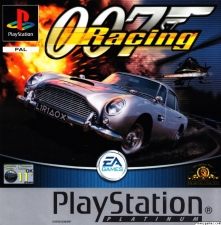 007 Racing (Platinum) (SLES-03355) (Front)