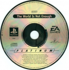 007 The World Is Not Enough (Platinum) (SLES-03134) (CD)