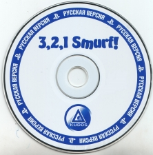 3, 2, 1 Smurf! My First Racing Game (SLES-03120) (Russian) (Kudos) (CD)