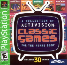 A Collection Of Activision Classic Games For The Atari 2600 (Greatest Hits) (SLUS-00777) (Front)