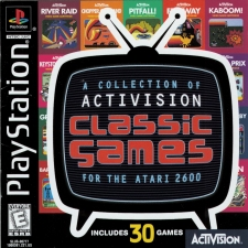 A Collection Of Activision Classic Games For The Atari 2600 (SLUS-00777) (Front)