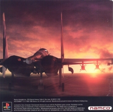 Ace Combat 2 (SLUS-00404) (Inlay)