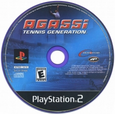 Agassi Tennis Generation (SLUS-20446) (CD)