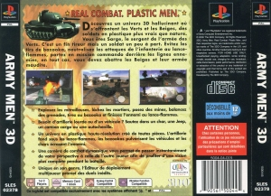Army Men 3D (Fr) (SLES-02378) (Back)