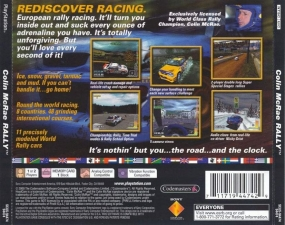Colin McRae Rally (SCUS-94474) (Back)