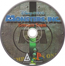 Disney-Pixar Monsters Inc. Scream Team (SCUS-94635) (Russian) (Kudos) (CD)