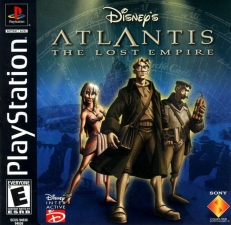 Disneys Atlantis The Lost Empire (SCUS-94636) (Front)