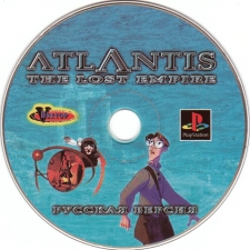 Disneys Atlantis The Lost Empire (SCUS-94636) (FulRUS) (Vector) (CD)