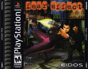Fear Effect (4CD) (SLUS-00920-01056-01057-01058) (Front)