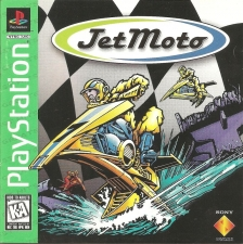Jet Moto (Greatest Hits) (SCUS-94309) (Front)