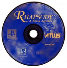 Rhapsody A Musical Adventure (SLUS-01073) (CD)
