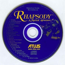 Rhapsody A Musical Adventure (SLUS-01073) (Soundtrack Disc)