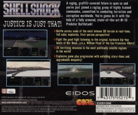 ShellShock (SLUS-00031) (Back)