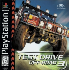 Test Drive Off-Road 3 (SLUS-00840) (Front)