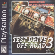 Test Drive Off-Road 3 (SLUS-00840) (Russian) (FireCross) (Front)