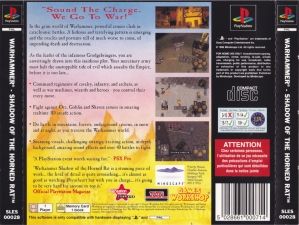 Warhammer Shadow Of The Horned Rat (SLES-00028) (Back)