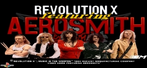 Revolution X Featuring Aerosmith: Music Is The Weapon